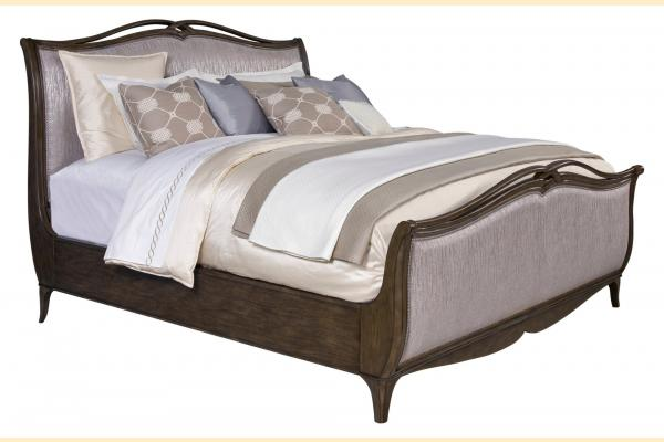 Broyhill Cashmera Cal-King Upholstered Sleigh Bed