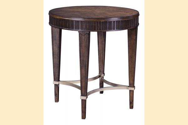 Broyhill Cashmera Round Lamp Table