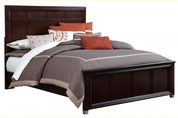 Broyhill Eastlake II Queen Panel Low Profile Bed