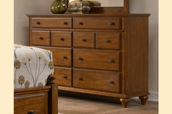 Broyhill Hayden Place-Brown Cherry Drawer Dresser