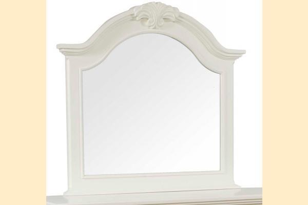 Broyhill Mirren Harbor Bedroom Arched Dresser Mirror