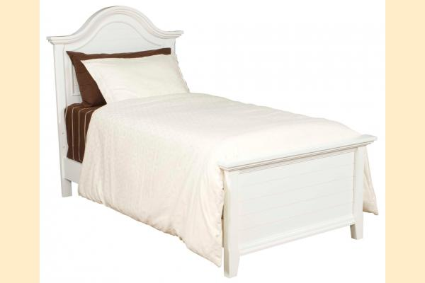 Broyhill Mirren Harbor Bedroom King Arched Panel Bed