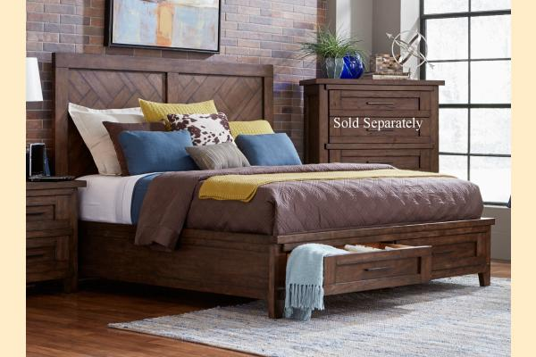 Broyhill Pieceworks Cal-King Panel Storage Bed
