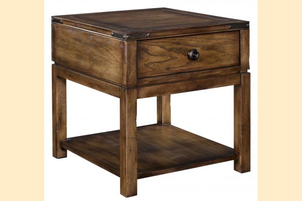 Broyhill Pike Place Drawer End Table