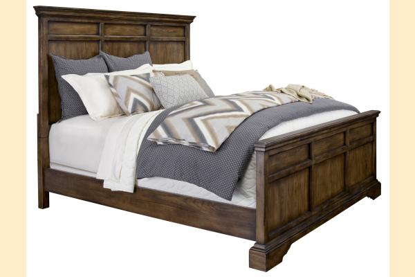 Broyhill Pike Place Queen Panel Bed