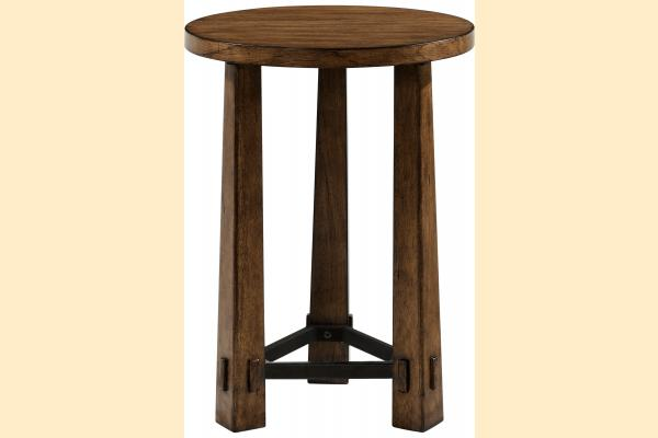 Broyhill Winslow Park Round End Table