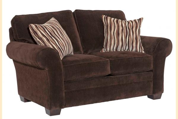 Broyhill Zachary-Dark Loveseat