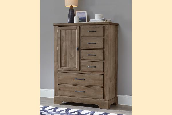 VB Artisan & Post  Cool Rustic-Stone Grey Standing Chest