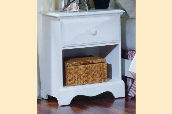 Carolina Furniture Carolina Cottage One Drawer Night Stand
