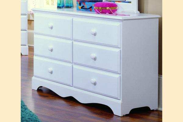 Carolina Furniture Carolina Cottage Double Dresser