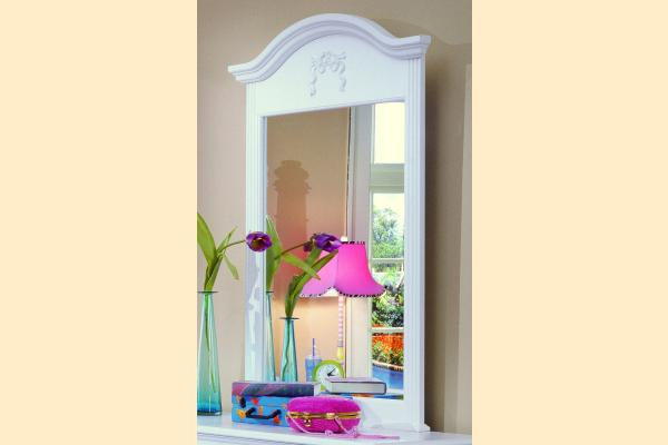 Carolina Furniture Carolina Cottage Princess Vertical Mirror