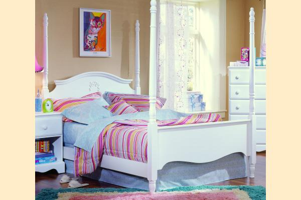 Carolina Furniture Carolina Cottage Full Princess Bed