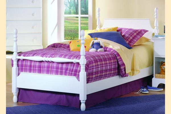 Carolina Furniture Carolina Cottage Twin Low Poster Bed