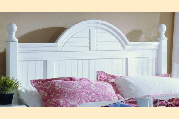 Carolina Furniture Carolina Cottage King Cottage Headboard and Frame