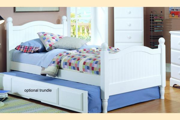 Carolina Furniture Carolina Cottage Twin Panel Bed