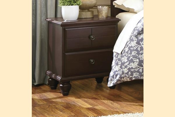 Carolina Furniture Carolina Craftsman - Espresso Nightstand