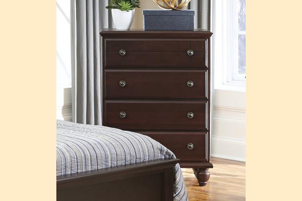 Carolina Furniture Carolina Craftsman - Espresso 4 Drawer Chest