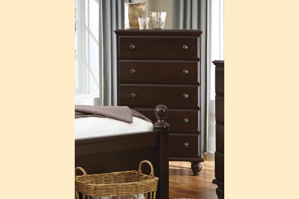 Carolina Furniture Carolina Craftsman - Espresso 5 Drawer Chest