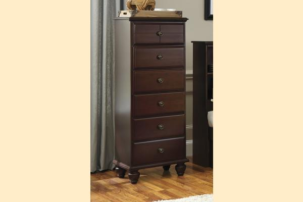 Carolina Furniture Carolina Craftsman - Espresso 6 Drawer Lingerie Chest