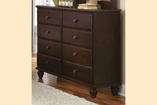 Carolina Furniture Carolina Craftsman - Espresso Tall 8 Drawer Dresser