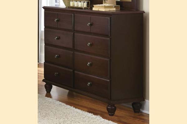 Carolina Furniture Carolina Craftsman - Espresso Tall 8 Drawer Dresser