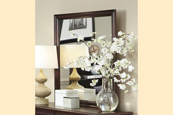 Carolina Furniture Carolina Craftsman - Espresso Landscape Mirror