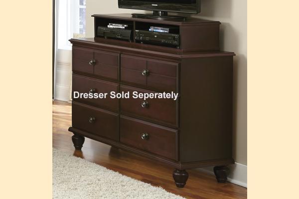 Carolina Furniture Carolina Craftsman - Espresso Media Unit