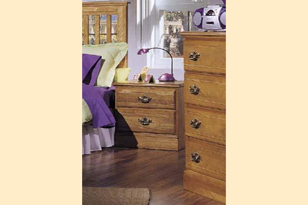 Carolina Furniture Carolina Oak Two Drawer Night Stand