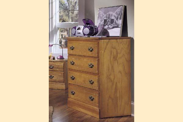 Carolina Furniture Carolina Oak Four Drawer Chest