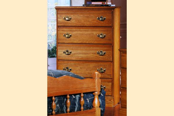 Carolina Furniture Carolina Oak Five Drawer Chest