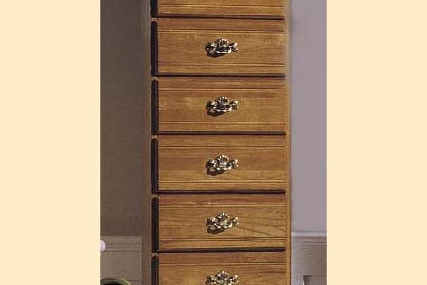Carolina Furniture Carolina Oak Six Drawer Lingerie Chest