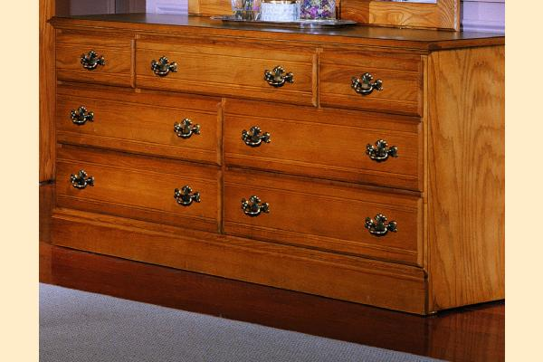 Carolina Furniture Carolina Oak Triple Dresser