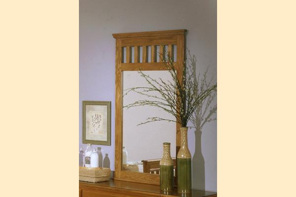 Carolina Furniture Carolina Oak Vertical Mirror
