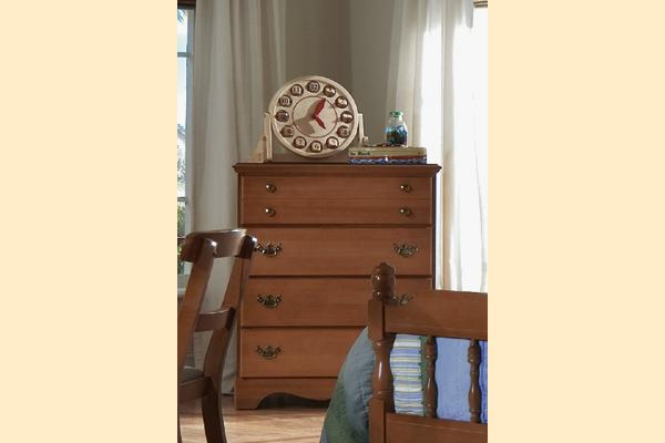 Carolina Furniture Common Sense Cherry Four Drawer Chest