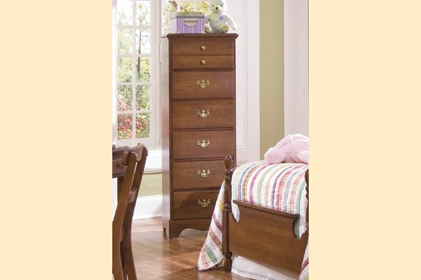 Carolina Furniture Common Sense Cherry Six Drawer Lingerie Chest