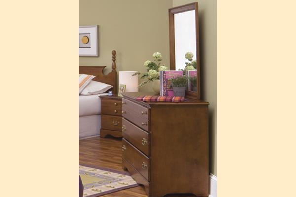Carolina Furniture Common Sense Cherry Single Dresser