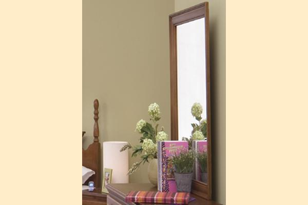 Carolina Furniture Common Sense Cherry SD Landscape Mirror