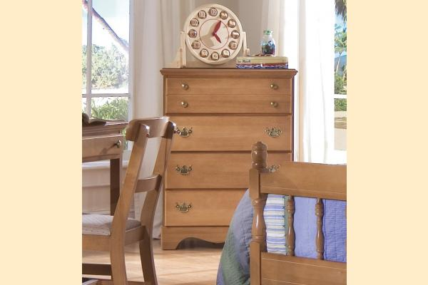 Carolina Furniture Common Sense Maple Four Drawer Chest
