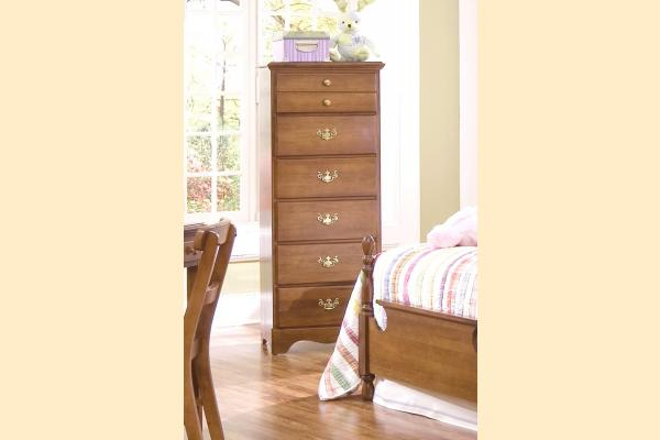 Carolina Furniture Common Sense Maple Six Drawer Lingerie Chest