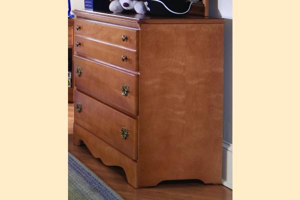 Carolina Furniture Common Sense Maple Single Dresser