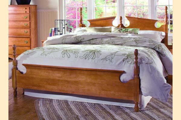 Carolina Furniture Common Sense Maple Full Panel Bed