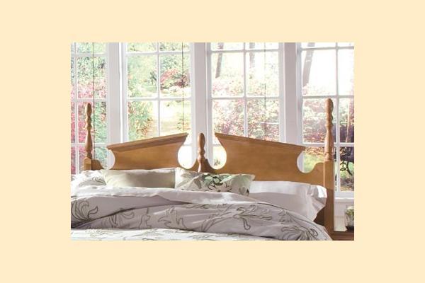 Carolina Furniture Common Sense Maple King Panel Headboard and Frame