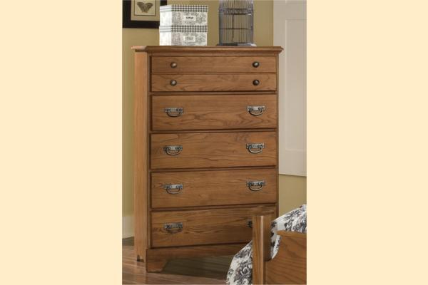 Carolina Furniture Creek Side Five Drawer Chest