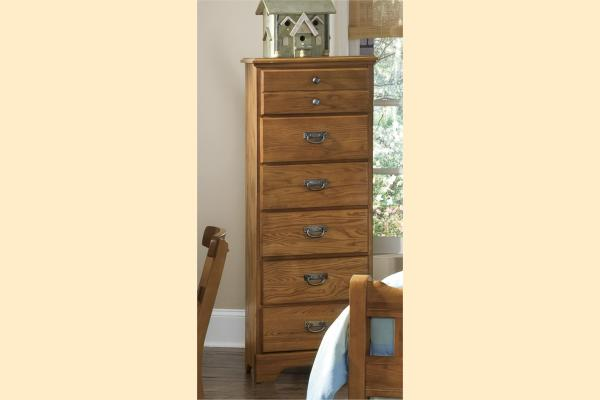 Carolina Furniture Creek Side Six Drawer Lingerie Chest