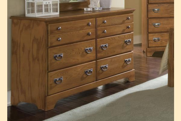 Carolina Furniture Creek Side Double Dresser