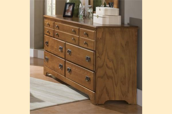 Carolina Furniture Creek Side Triple Dresser