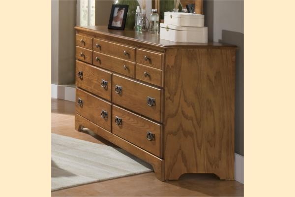 Carolina Furniture Creek Side Triple Dresser