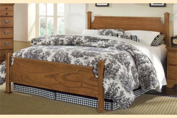 Carolina Furniture Creek Side Full Poster Bed