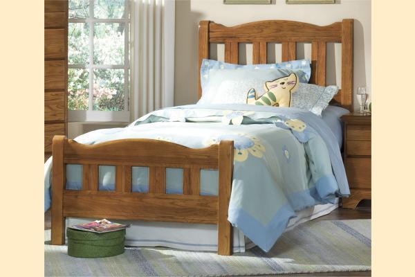 Carolina Furniture Creek Side Twin Splat Bed