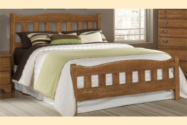 Carolina Furniture Creek Side Queen Splat Bed